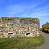 Buy canvas prints of Suomenlinna Fortifications in October by Taina Sohlman