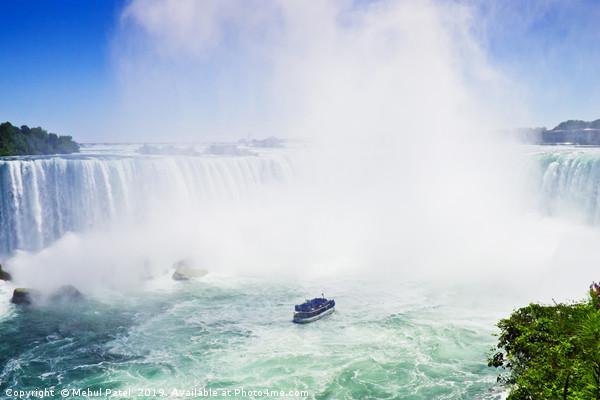 Horseshoe Falls, Niagara, Ontario, Canada Canvas Print by Mehul Patel