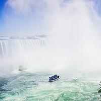 Buy canvas prints of Horseshoe Falls, Niagara, Ontario, Canada by Mehul Patel