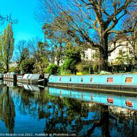 Buy canvas prints of Little Venice - London by Alessandro Ricardo Uva