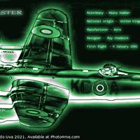 Buy canvas prints of Avro Lancaster Bomber by Alessandro Ricardo Uva