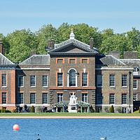 Buy canvas prints of  Kensington palace in London by Miroslav Jacimovic