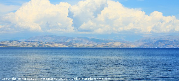 Crete is the largest and most populous of the Gree Canvas print by Miroslav J. Photography