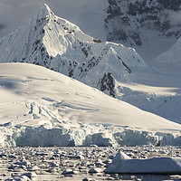 Buy canvas prints of Antarctic spire. by Ashley Cooper