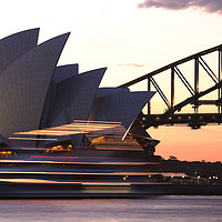 Buy canvas prints of Sydney Opera House by Ashley Cooper