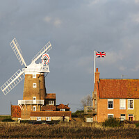 Buy canvas prints of Cley mill. by Ashley Cooper
