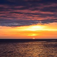 Buy canvas prints of Sunset over the Baltic sea by Jelena Maksimova