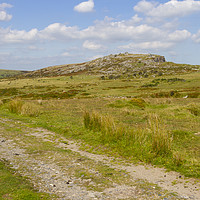 Buy canvas prints of Landscape on Bodmin Moor by Carolyn Barnard