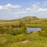 Buy canvas prints of The Cheeswring on Bodmin Moor by Carolyn Barnard