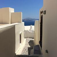 Buy canvas prints of SANTORINI, GREECE by EMMA DANCE