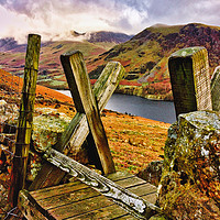 Buy canvas prints of BUTTERMERE by EMMA DANCE