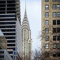 Buy canvas prints of Chrysler Building, Manhattan, US by Maria Luisa Latorre