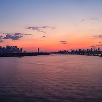 Buy canvas prints of New York sunrise by Jan Gregory