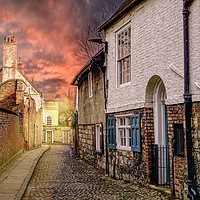 Buy canvas prints of Chapter House Street by Alison Chambers