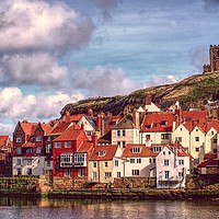 Buy canvas prints of Whitby Landscape by Alison Chambers