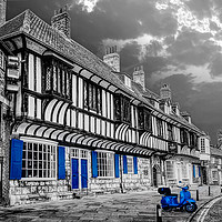 Buy canvas prints of College Street in York by Alison Chambers