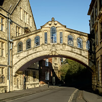 Buy canvas prints of Oxford Bridge of Sighs by Alison Chambers