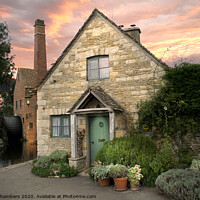 Buy canvas prints of The Old Mill by Alison Chambers