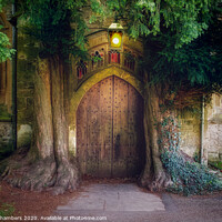 Buy canvas prints of St Edwards Church Stow by Alison Chambers
