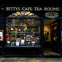 Buy canvas prints of Bettys of York by Alison Chambers