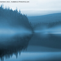 Buy canvas prints of Blue Mist at Langsett Reservoir  by Alison Chambers