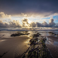 Buy canvas prints of Croyde, A little Floyd by Neil Parker