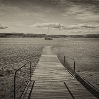 Buy canvas prints of Loch Fyne - Vanishing Point by Neil Parker