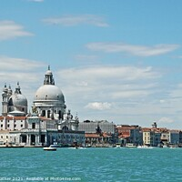 Buy canvas prints of Venice waterfront by David Mather