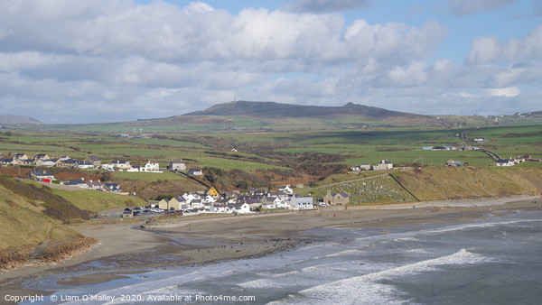 Aberdaron By The Sea Print by Liam O'Malley