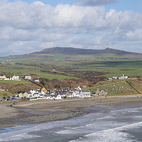Buy canvas prints of Aberdaron By The Sea by Liam O'Malley
