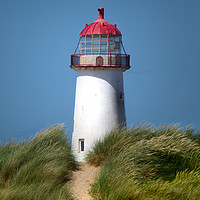 Buy canvas prints of Point of Ayr Lighthouse by Liam O'Malley