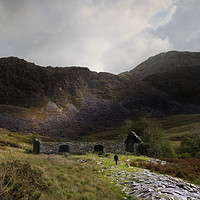Buy canvas prints of Approaching the Old Mill in the Dwyfor valley by Liam O'Malley
