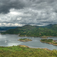 Buy canvas prints of Kyles of Bute, Argyle & Bute, Scotland by Ann Goodall