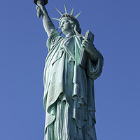 Buy canvas prints of Statue of Liberty by paul hardy