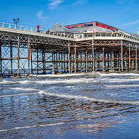 Buy canvas prints of Cromer Pier, Norfolk by Chris Yaxley