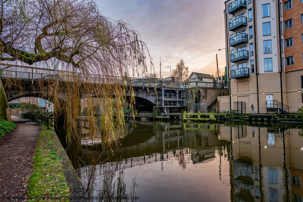 Carrow Road Bridge over the River Wensum Canvas Print by Chris Yaxley