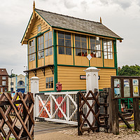 Buy canvas prints of Sheringham Signal House, Bittern Line, Norfolk by Chris Yaxley