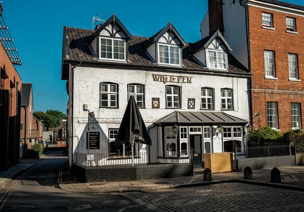 Wig & Pen pub, Norwich Framed Print by Chris Yaxley