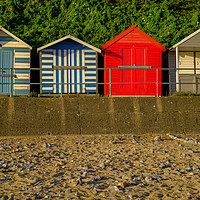 Buy canvas prints of Cromer Beach Huts by Chris Yaxley