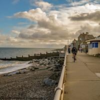 Buy canvas prints of Sheringham Promenade by Chris Yaxley