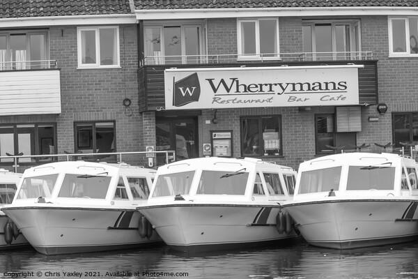 Norfolk Broads boating Canvas Print by Chris Yaxley