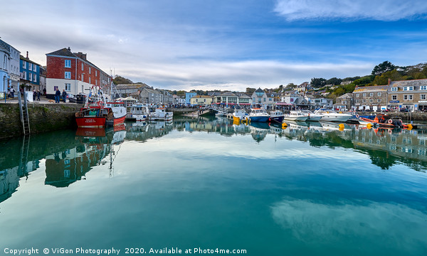 Padstow Harbour Canvas print by ViGon Photography