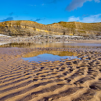 Buy canvas prints of Glamorgan Heritage Coast by Gordon Maclaren