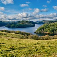 Buy canvas prints of Llyn Brianne by Gordon Maclaren
