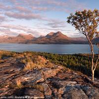 Buy canvas prints of South Torridon Hills  Upper Loch Torridon SCOTLAND by Barbara Jones