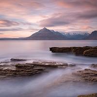 Buy canvas prints of Elgol Sunset Isle of Skye Scotland by Barbara Jones