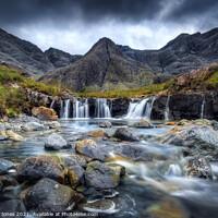 Buy canvas prints of Fairy Pools Isle of Skye Scotland by Barbara Jones