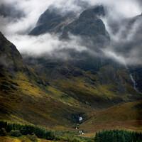 Buy canvas prints of Blaven in a Malevolent Mood isle of Skye Scotland by Barbara Jones