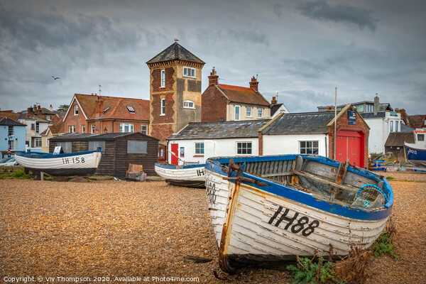 Aldeburgh Lifeboat Station Canvas Print by Viv Thompson