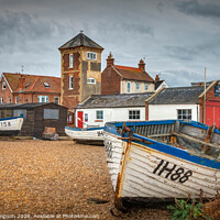 Buy canvas prints of Aldeburgh Lifeboat Station by Viv Thompson